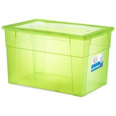 Scatola Visualbox Xxl High 60x40x35 Verde Sistemazione Casa