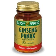 Body Spring Ginseng Panax Tonico Adattogeno 50 Capsule 100 Mg