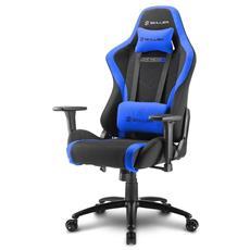 Sedia Gaming Skiller SGS2 in Pelle Sintetica Colore Nero e Blu