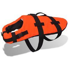 Giubbotto Di Salvataggio Per Cane L Arancione