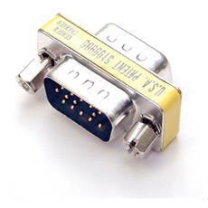 Slimline Gender Changer HDDB15M to HDDB15M cavo di interfaccia e adattatore