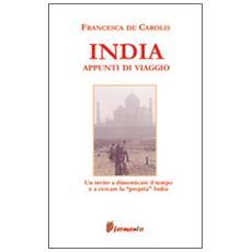 India. Appunti di viaggio