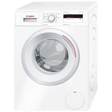 BOSCH - Lavatrice WAN20068IT a Carica Frontale Classe A+++ Capacità 8 kg Velocità 1000 Giri Colore Bianco