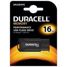 Chiavetta USB 16 GB Interfaccia USB 2.0 Colore Nero