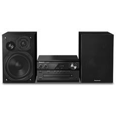 Sistema Mini Hi-Fi SC-PMX80 Lettore CD Supporto MP3 Potenza Totale 120W USB / Bluetooth
