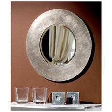 Specchiera In Legno Rotondada Dim. 82 P3
