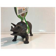 18431 9 Cm Triceratopo Verde Nuovo