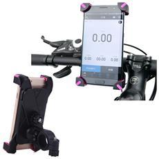 Supporto Universale Ch01 Bicicletta Ruota 360 Gradi Max 95 X185 Mm Da Manubrio Bici Bike Smartphone Mp3 Mp4 Gps Colore Casuale