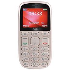 Cellulare Grande Per Anziani Trevi Max 24 Oro