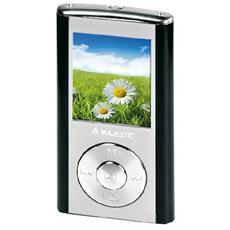 """SDA-4357 - 4GB microSD, 1.8"""" LCD, USB 2.0, 3.5mm, Lithium, Nero"""