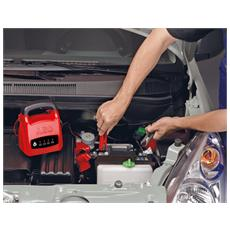 Caricabatteria 6 Ampere per Batterie 12 V Colore Rosso