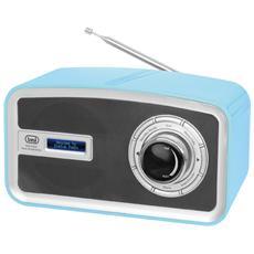 Radio Dab Portatile Dab 792 R Azzurro