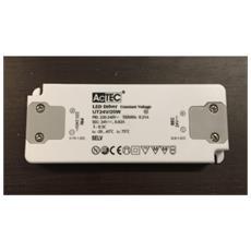 Alimentatore Trasformatore Per Led Actec Slim Cv Mode 24 V 20 Watt Tensione Costante