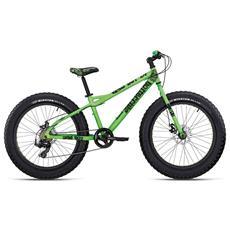 Fat Bike Bottecchia Wild Boy 24 7v - Shimano Tx55 - Verde Opaco