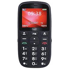Cellulare Grande Per Anziani Trevi Max 24 Nero