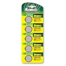 IBT-KCR2430 - Batterie a bottone Litio CR2430 (set 5 pz)