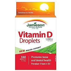 Vitamin d gocce 100iu