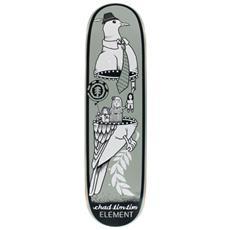 Tavola Skateboard Deck Tim Tim Zipper 8.12 Grigio Taglia Unica