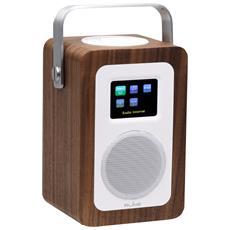 Radio Digitale Wi-fi Portatile Spotify Connect Internet Radio Dlna Controllabile Tramite App