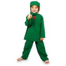 Costume Da Medico Chirurgo Per Bambini 4-10 Anni Legler