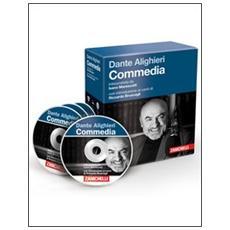 La «Commedia» di Dante letta da Ivano Marescotti. Audiolibro. 3 CD Audio