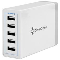 SST-UC01W Wall Charger con 5 porte USB, 40W / 8A
