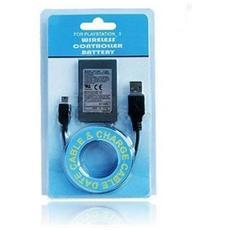 Batteria Ricaricabile Per Controller Ps3