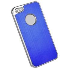 Iphone 5 Custodia Luxury Aluminium Case Blu