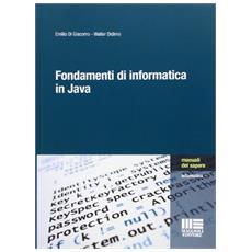 Fondamenti di informatica in Java