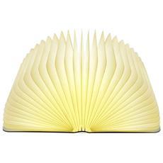 Lampada A Forma Di Libro Luce Bianco Caldo