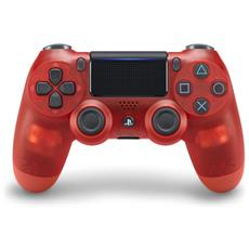 SONY - Controller Dualshock 4 V2 Crystal Red Wireless