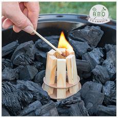 Accendifuoco Di Legno Per Barbecue Bbq Classics