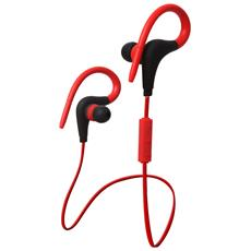 Earpods Auricolare Bluetooth Huawei Compatibile Con Xiaomi / samsung / oppo / iphone Bt-48 - Rosso