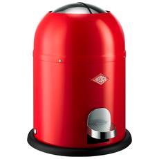 Pattumiera Pushboy Capacità 22 Litri Rosso