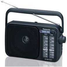 Radio Portatile AM / FM RF-2400 Colore Nero