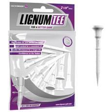 Lignum Tee 2 1/8 Pack 16 White Master