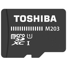 microSDXC Class 10 64GB Exceria M203 R100 + Adapter