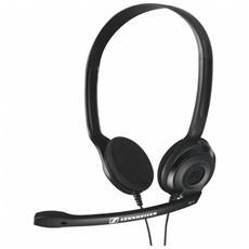SENNHEISER - Cuffie con Microfono PC3 Chat per PC Connessione Cavo Nera 2 m