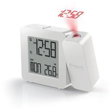 Orologio con proiezione e doppio allarme sveglia PROJI Colore Bianco