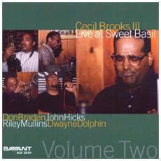 Cecil Brooks Iii Quintet - Live At Sweet Basil Vol. 2
