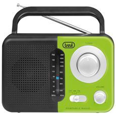Radio Portatile Am / fm Trevi Ra 768 S Verde