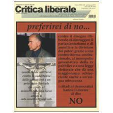 Critica liberale (2016) . Vol. 228