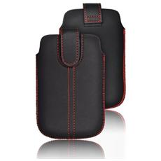 Cover Custodia Chic Ultra Slim -m4- Samsung I9500 Galaxy S4 / i9300 Galaxy S3 / galaxy A3 / ipho 6 / ipho 7 Nera
