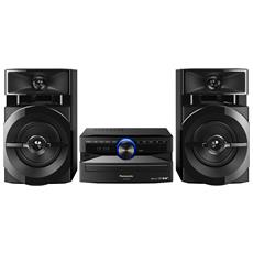 PANASONIC - Sistema Mini Hi-Fi SC-UX102 Lettore CD Supporto MP3 Potenza  Totale 300W Bluetooth   USB 6f75611e7a20