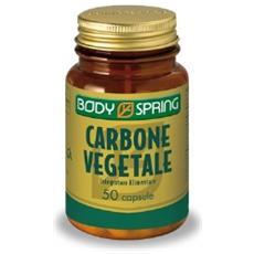 Body Spring Carbone Vegetale 50 Capsule Angelini