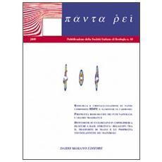 Panta rei. Vol. 10: Reologia e cristallizzazione di nanocompositi HDPE e nanotubi in carbonio. Proprietà reologiche dei fusi naturali. I liquidi magmatici.