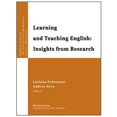 Learning and teaching english. Insights from research