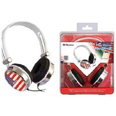 Cuffie Audio USA flag Over-Ear