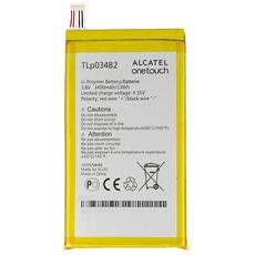Batteria nuova ORIGINALE CAC3400004C2 3400mAh per Alcatel One Touch 8020D venduto in BULK senza scatola