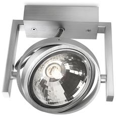 Fast Single Spot Aluminium 1X60w 230V